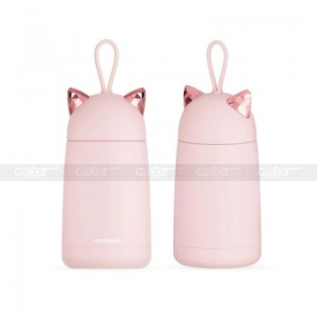 Thermos 350 ml - rose chat