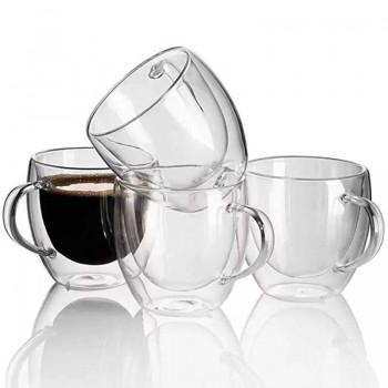 Set 6 Tasses café double...
