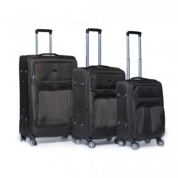 Set de 3 valises en tissu...